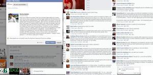 Un militante se queja en FB sobre la actuación del aparato de partido frente a su actitud.